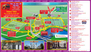 Map New Orleans French Quarter by Hop On Hop Off New Orleans Bus Tour Coupons 2017 Tripshock