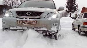 kuni lexus rx 350 used lexus rx 350 a little snow youtube