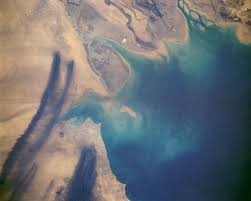 Kuwait Oil Fire Smoke Plumes from Space