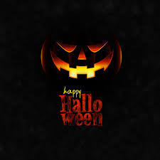 spooky halloween background free happy halloween scary night party concept with pumpkins stock