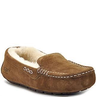 UGG Australia Ansley Moccasin Chestnut Slippers 3312-CHE