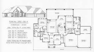 3 Car Garage Over 2800 Sq 3 Bedroom House Plans