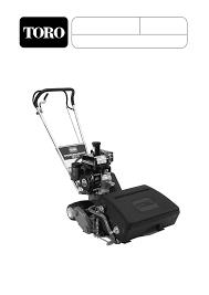 toro 04130 04215 greensmaster 500 lawn mower operators manual