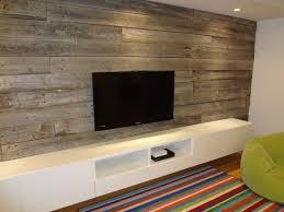 modern barn board basement wall tv too small reclaimed wood wall