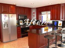 Kitchen Cabinet Refacing Costs How To Reface Kitchen Cabinets Reface Kitchen Cabinets Before