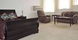senior living retirement community in evansville in willow park 5377 willow park evansville in model apartment