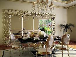 mirrors dining room mirror ideas chrome round inspirations