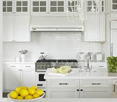 White Subway Tile Backsplash Ideas by 111 Best Backsplash Images On Pinterest Kitchen Backsplash