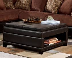 modern ottoman table modern square leather ottoman coffee table lovely table ideas