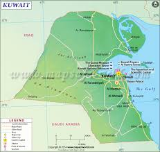Show Me A Map Of The Middle East by Kuwait Map Map Of Kuwait