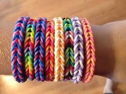 How to make loom bands breton stripe bracelets
