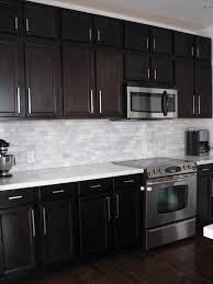 Black Kitchen Designs Photos Best 25 Subway Tile Backsplash Ideas On Pinterest White Kitchen
