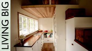 stunning diy cottage style tiny house youtube