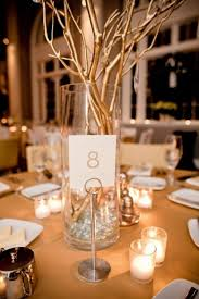 Silver Centerpieces For Table Gold Silver Branch Centerpiece Modern Centerpieces Spray