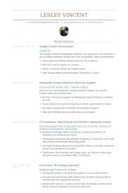 Google Resume Examples by Student Ambassador Resume Samples Visualcv Resume Samples Database