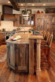 Stove In Kitchen Island Exterior Rustic Kitchen Island With Stove Breathtaking Rustic
