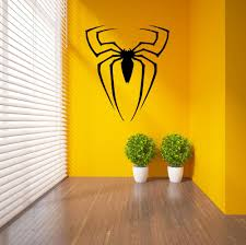 compare prices on transfer wall decals online shopping buy low spiderman superhero logo spider vinyl wall sticker home decor transfer wall decal pvc decoration diy mural