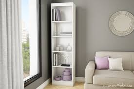 White Short Bookcase by Top 30 Collection Of White Bookcases And Bookshelfs