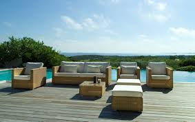 Best Wood Patio Furniture - simple outdoor patio furniture with wooden chair and table one set