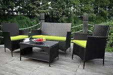 Wicker Outdoor Furniture Sets by Rattan Patio U0026 Garden Furniture Sets Ebay