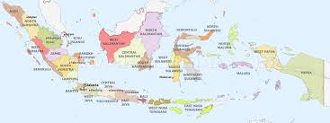 Thousand Islands Map Indonesia Maps