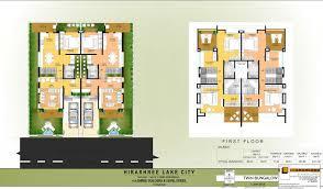 hirashree lake city floor plans project 3d views in kolhapur