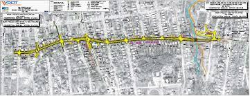 Roanoke Virginia Map by Tenth Street Improvements Roanoke