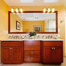 Bathroom Cabinet With Mirror And Light by Light Above Mirror Houzz