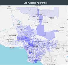 Zip Code Map Of Los Angeles by Realmassive Commercial Real Estate Data