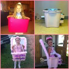 ballerina in a jewelry box halloween costume diy pink spray paint