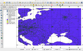 Lat Long Map Creating A Heatmap From Sie Channel 204 Data