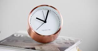 aurelia alarm clock brass made com