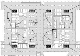 emergency evacuation guidance design for complex building