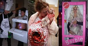 Funny Pregnant Halloween Costume Creative Halloween Costume Ideas Pregnant Women U2013 21 Pics