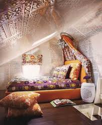attic bedroom with a hippie vibe hippie boho chic style boho bedroom idea with amazing decor in attic for spectacular relaxing space spectacular attic bedroom ideas for the most relaxing space i