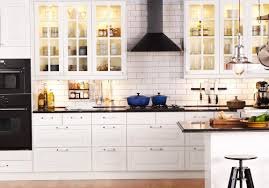 ikea white kitchen cabinets living room decoration