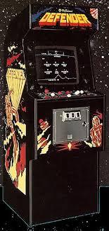 "80s Arcade Game ""Defender"""