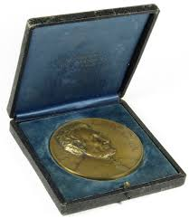 Abraham Lincoln Essay Award Medal Illinois Watch Company   quot  Bronze Medals and Tokens
