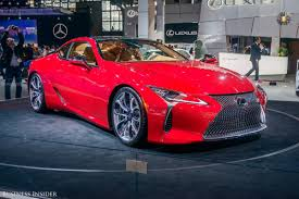 lexus lc pricing this is the future of lexus business insider