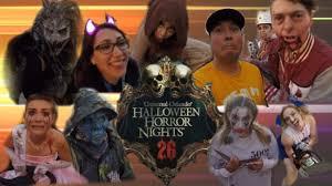 costumes halloween horror nights universal vacation halloween horror nights 26 2016 youtube