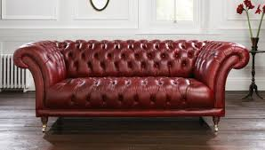 Chesterfield Sofa Leather by Goodwood Chesterfield Sofa