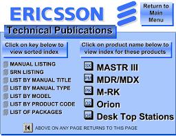 list of ericsson technical publications