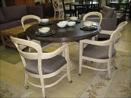 Swivel Dining Room Chairs Rolling Dining Chairs Lovely Ideas Rolling Dining Room Chairs