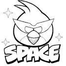 n angry bird Colouring Pages