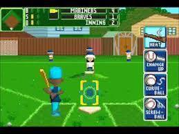 Original Backyard Baseball by Sports Gbafun Is A Website Let You Play Retro Gameboy Advance