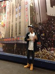 This mural depicts all of the places in NYC that Pace has a presence  He said that graduation ceremonies have been