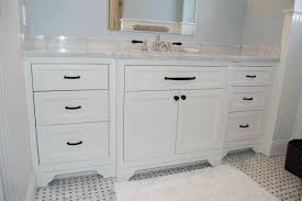 hand made wide single bathroom vanity by john samuel custom