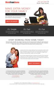 44 best work from home landing page images on pinterest landing