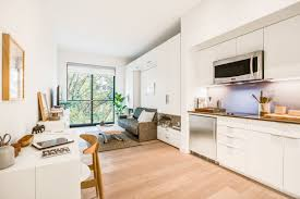 How Many Square Feet Is A 1 Car Garage Carmel Place Leasing New York City U0027s First Micro Apartments