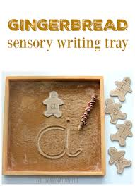 gingerbread writing paper gingerbread sensory writing tray the imagination tree gingerbread man sensory writing tray literacy activity